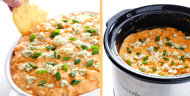 Slow Cooker Buffalo Chicken Dip Recipe