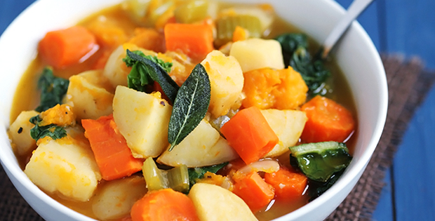 A Very Nutritious Slow Cooker Root Vegetable Stew