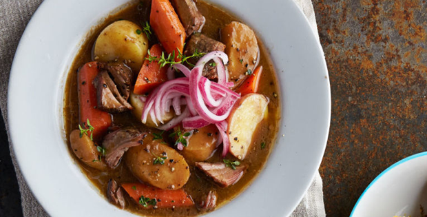 Very Delectable Red-Eyed Brisket Stew In A Crock Pot