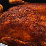 Perfectly Seasoned Crock Pot Rotisserie Chicken