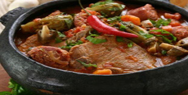 Full-flavored Braised Pork with Salsa