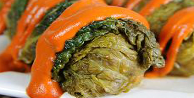 Scrumptious Barley-Stuffed Cabbage Rolls With Pine Nuts And Currants