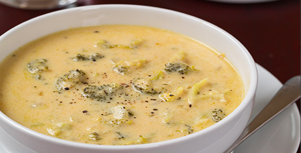 The Perfect Slow Cooker Broccoli Cheese Soup