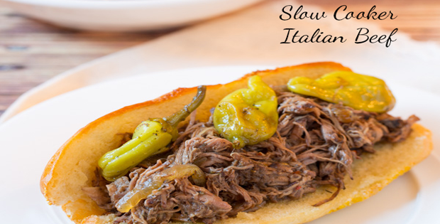 Super Tender Crock Pot Italian Beef