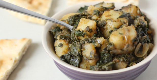 Very Easy Slow Cooker Saag Aloo