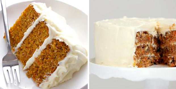 Carrot Layer Cake With Cream Cheese Whipped Cream