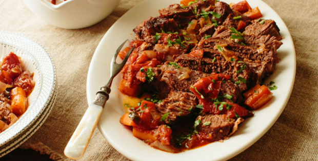 An Exceptionally Appetizing Crock Pot Italian Style Pot Roast