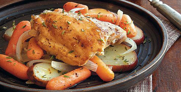 Slow Cooker Chicken With Carrots And Potatoes