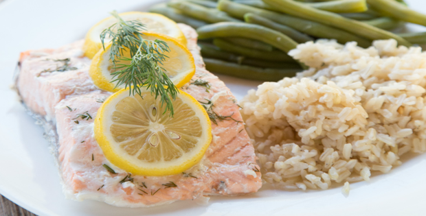 Slow Cooker Lemon And Dill Salmon