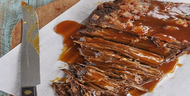 A Tangy And Super Delectable Slow Cooker Sweet And Sour Beef Brisket