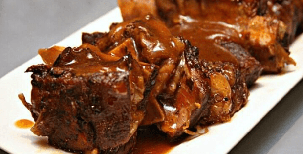 Utterly Delicious Slow Cooker Beer Braised Short Ribs