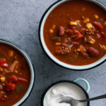 A Super Healthy And Effortless Crock Pot Taco Soup