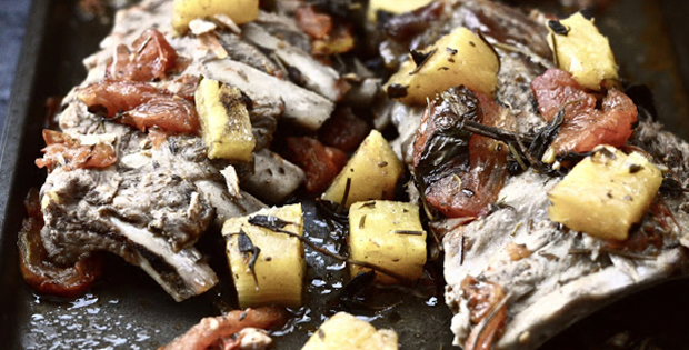 Gluten Free Slow Cooker Pineapple Pork Ribs