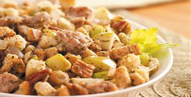 Low Fat Slow-Cooked Sausage Dressing