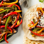 Healthy And All Veggie Crock Pot Vegetarian Fajitas