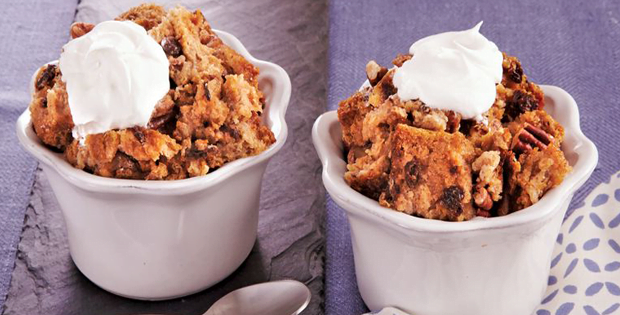 Slow Cooker Cinnamon-Raisin Bread Pudding
