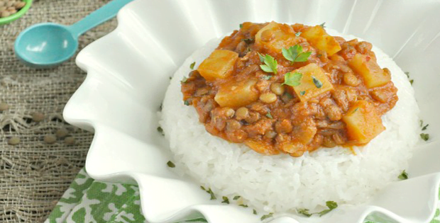 Slow Cooker Madras Lentils For A Very Healthy Comfort Food