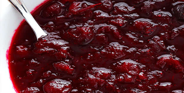 Luscious And Easy Slow Cooker Cranberry Sauce
