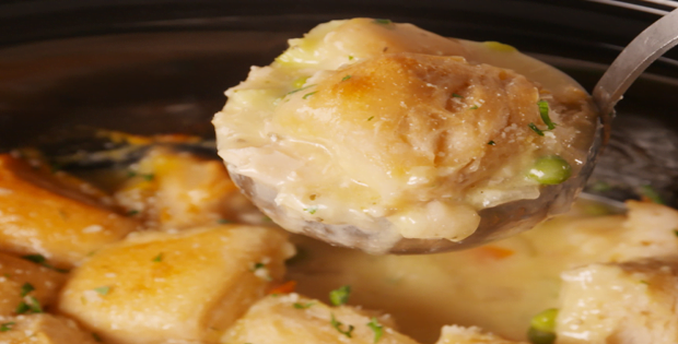 Here's The Scoop On How To Cook The Best Crock Pot Chicken And Dumplings