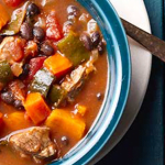Slow Cooker Lamb, Bean, And Sweet Potato Chili