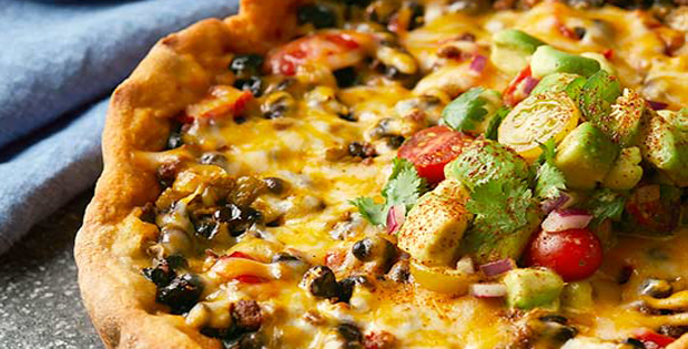 Slow Cooker Chorizo And Black Bean Pizza Pie
