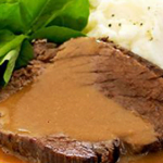 Traditional German Slow Cooker Sauerbraten