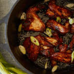 Crock Pot Sticky Chicken Wings