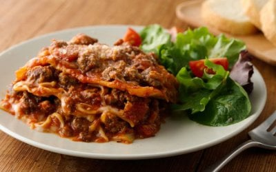 Super Easy Slow-Cooker Lasagna